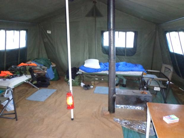 reputable site 7a1af 84a06 My army wall tent at hunting camp last year - Survival Forum ...